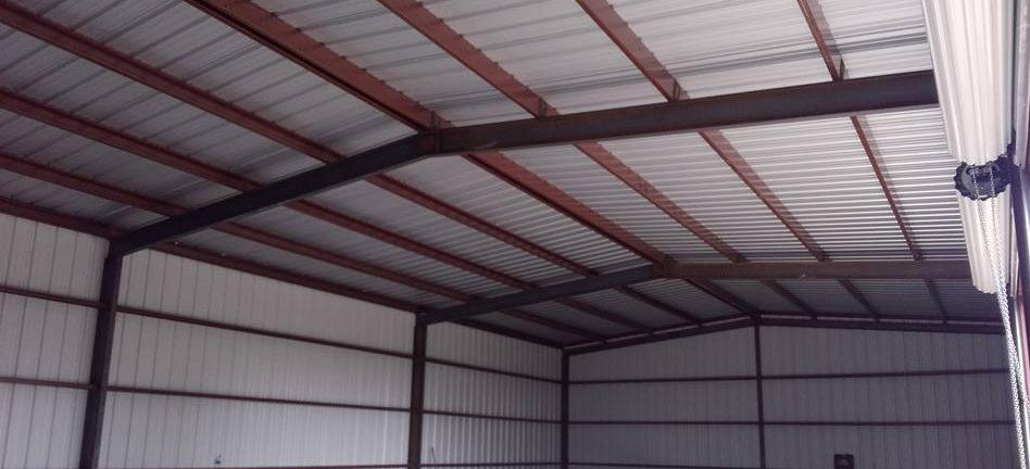 Custom Metal Garage